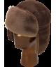 Sheepskin Mid Aviator (Medium Brown)