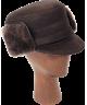 Elmer Fudd Sheepskin Flat Top (Black)