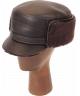 Elmer Fudd Sheepskin Flat Top (Dark Brown)