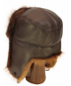 Trapper in Leather and Beaver (Brown)