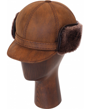 Elmer Fudd Sheepskin Round Top Short (Kodiak)