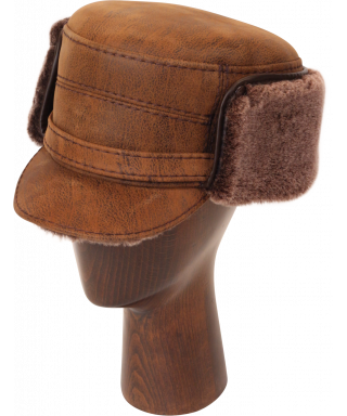 Elmer Fudd Sheepskin Flat Top (Kodiak)