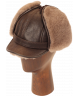 Elmer Fudd Sheepskin Round Top Long (Medium Brown)