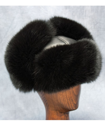 Black Fox Russian Ushanka