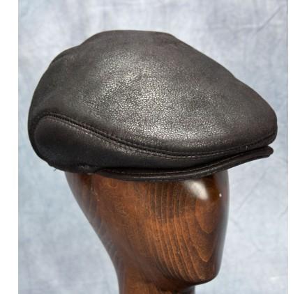 Sheepskin Ivy Cap (Brown)