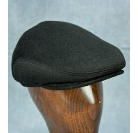 Wool / Cashmere Ivy Cap (Black)