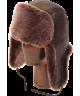 Classic Sheepskin Bomber (Dark Brown)