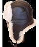 Classic Sheepskin Bomber (Brown / White)