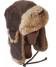 Vintage Rodeo Leather Rabbit Fur