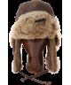 Vintage Rodeo Leather Rabbit Fur