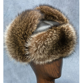 Raccoon Russian Ushanka Hat