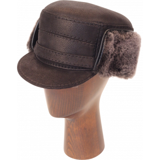 Elmer Fudd Sheepskin Flat Top Short