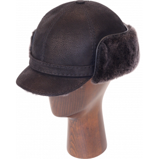 Elmer Fudd Sheepskin Round Top Short