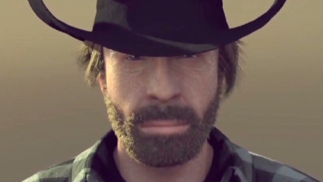 Chuck Norris returns whatever he wants